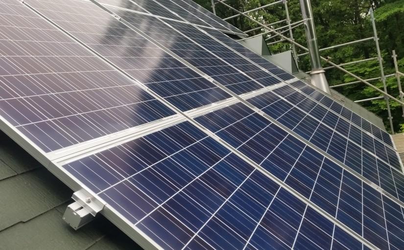北杜市内全量住宅太陽光発電