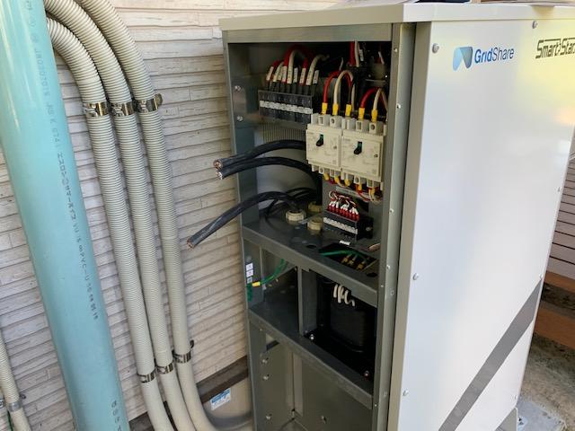 蓄電池スマートスターの設置工事