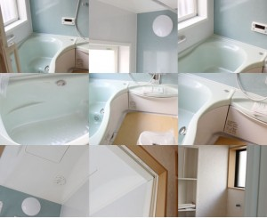 YAMAHAのバスルーム施工写真